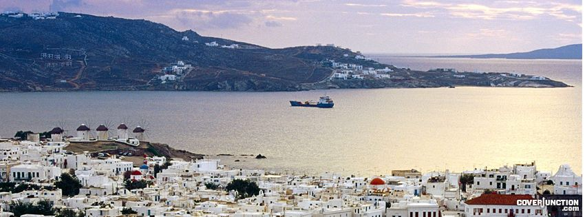 Mykonos Greece 1 Facebook Cover