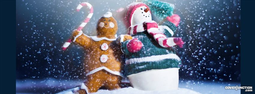Magic Christmas facebook cover