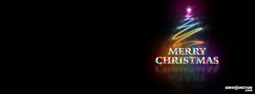 Christmas Colors facebook cover