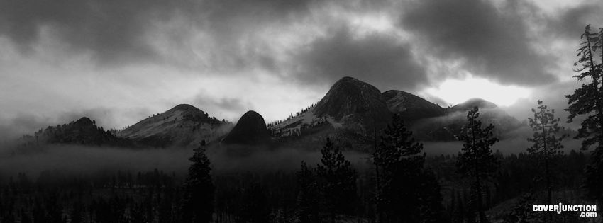 Yosemite Mountains Facebook Cover