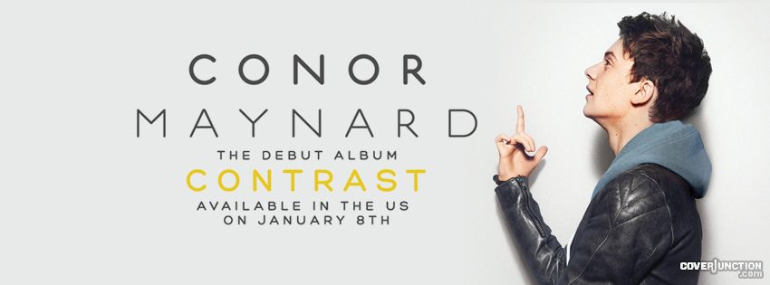 Conor Maynard - Contrast - 12 Days of Mayniacs Challenge facebook cover