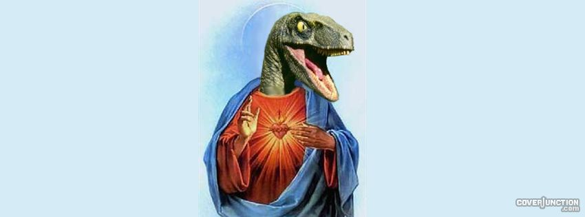 Raptor Jesus facebook cover