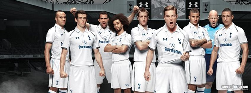 Tottenham Hotspur 2012 / 2013 Kit Facebook Cover