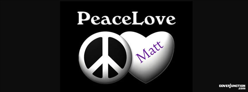 Peace&Love2 Facebook Cover