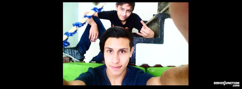 Mi hermano Y Yo =P Facebook Cover