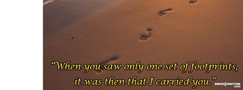 footprints Facebook Cover