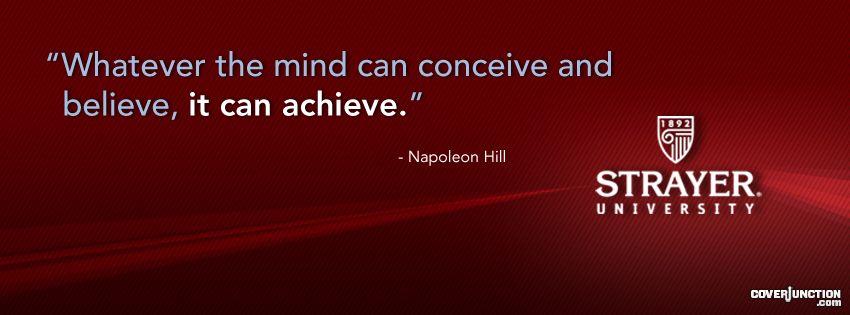 Napoleon Hill Quote facebook cover