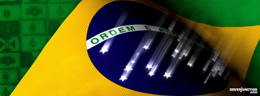 Brasil Brazil Facebook Cover - CoverJunction