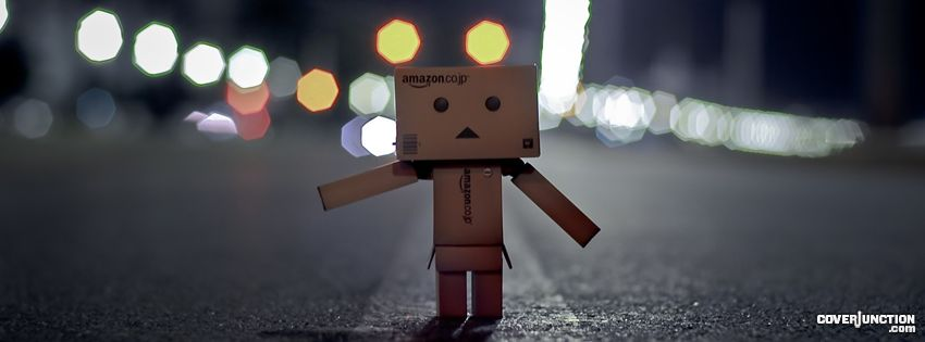 Danbo - Hitch hiking Facebook Cover - CoverJunction