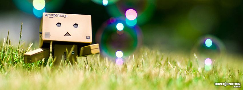 Danbo - Bubbles Facebook Cover