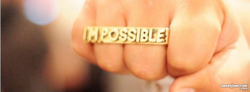 I'm possible facebook cover