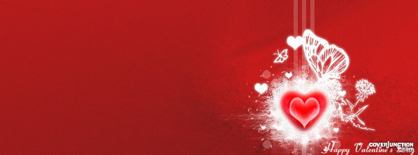 happy valentine's day    umair and pari facebook cover