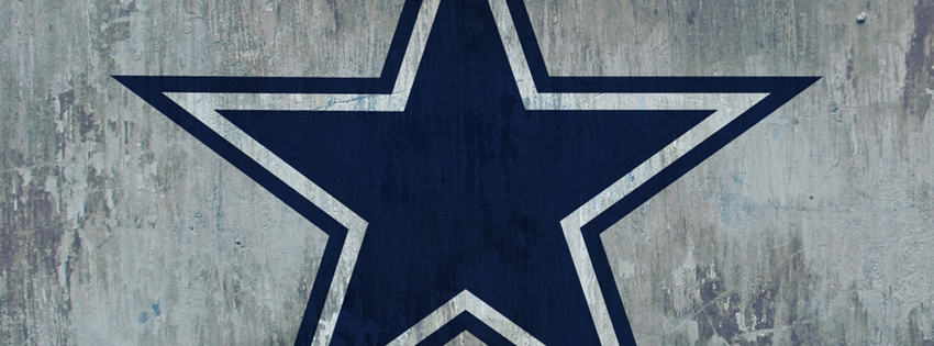 Dallas Cowboys Grunge facebook cover