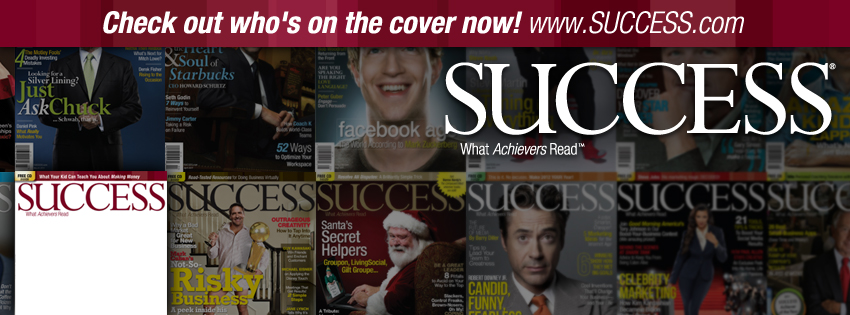 SUCCESS magazine cover facebook cover