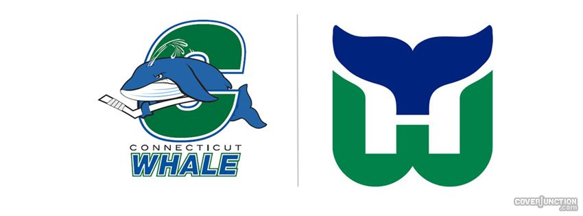 Connecticut Whale and Hartford Whalers Facebook Cover