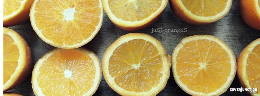 Just Oranges Facebook Cover