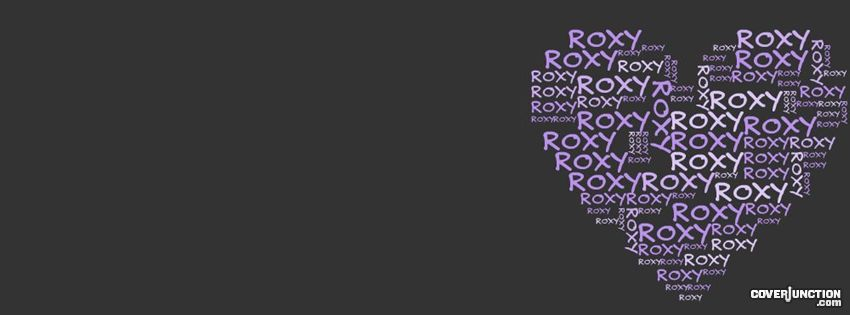 Roxy Facebook Cover - CoverJunction