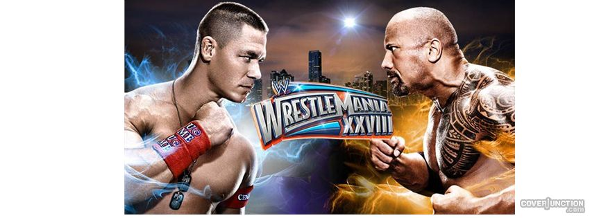 Wrestlemania 28 Facebook Cover