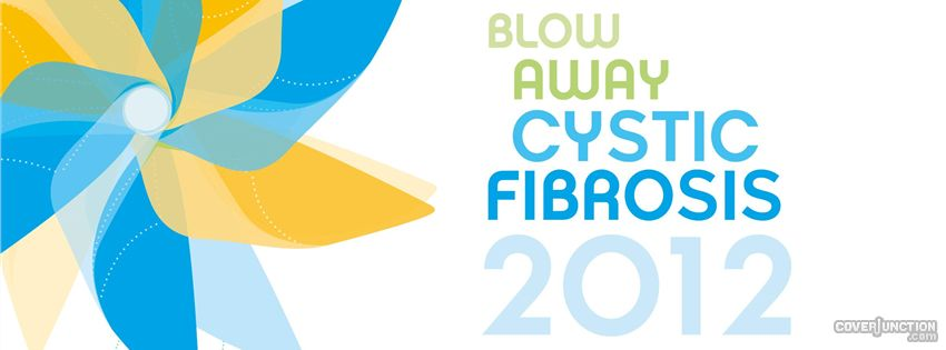 Blow Away cystic fibrosis Facebook Cover