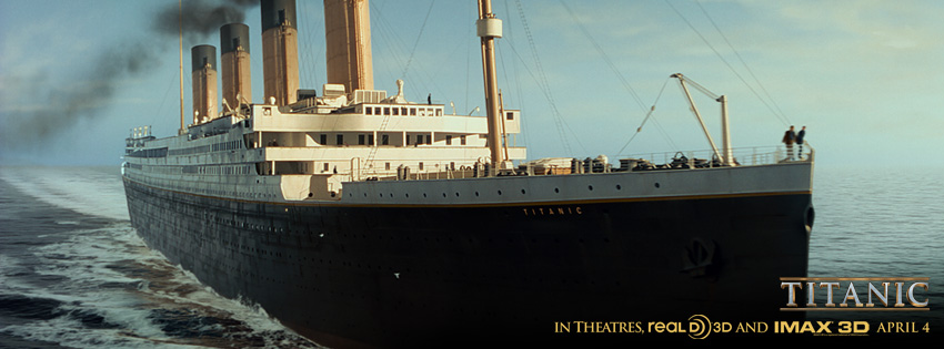 Here comes 'The Unsinkable Ship' facebook cover