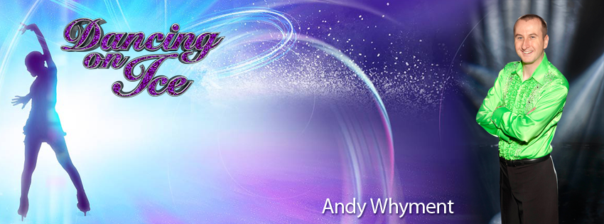 Andy Whyment - Dancing on Ice 2012 Facebook Cover