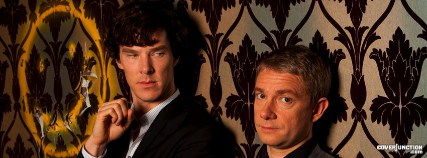 Sherlock - BBC Facebook Cover - CoverJunction