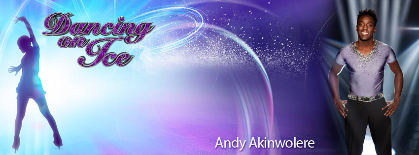 Andy Akinwolere - Dancing on Ice 2012 Facebook Cover