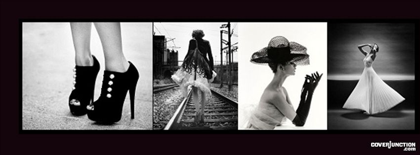 Black and White Inspiration Facebook Cover