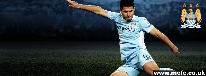 Sergio Agüero Facebook Cover - CoverJunction