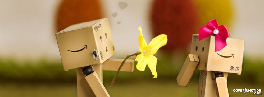 Danbo - Love facebook cover