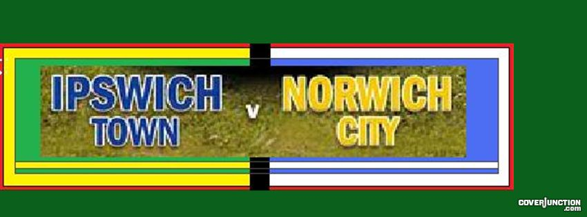 Ipswich Town v Norwich City Banner facebook cover