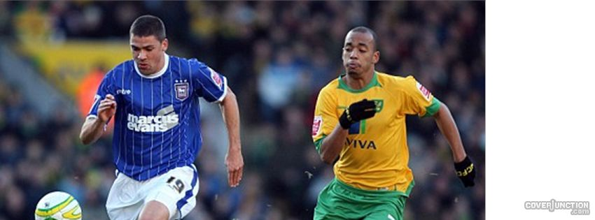 Ipswich Town v Norwich City Facebook Cover - CoverJunction