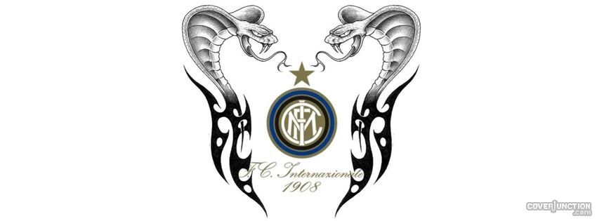 INTER F.C. 1908 SNAKES facebook cover