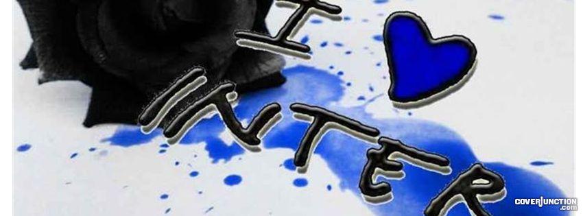 I LOVE INTER <3 facebook cover