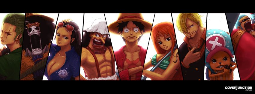 one piece .. Facebook Cover