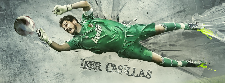 Real Madrid - Casillas facebook cover