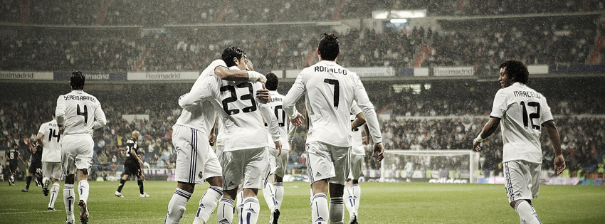 Real Madrid - Bernabeu Facebook Cover