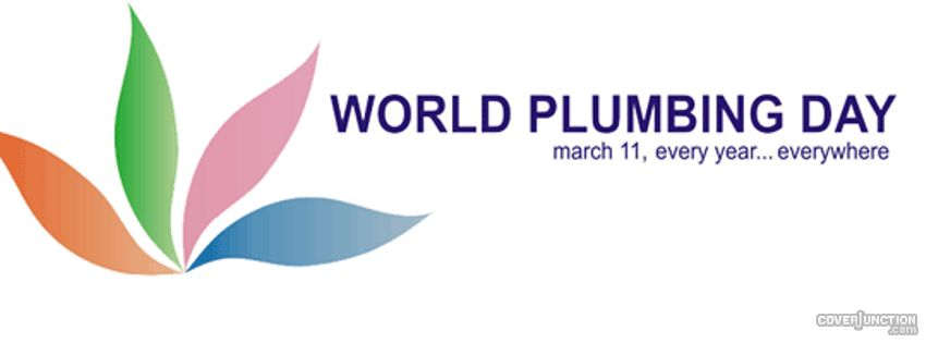 World Plumbing Day Facebook Cover
