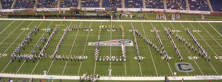 Uconn Motor City Bowl 2004 Facebook Cover