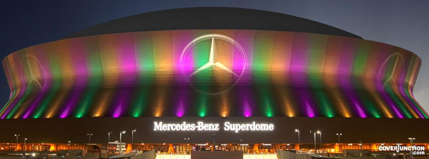 Mercedes-Benz SUPERDOME Facebook Cover