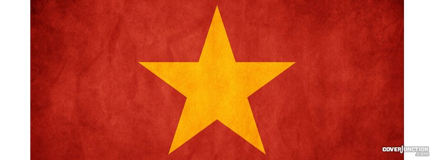Flag of Vietnam Facebook Cover - CoverJunction