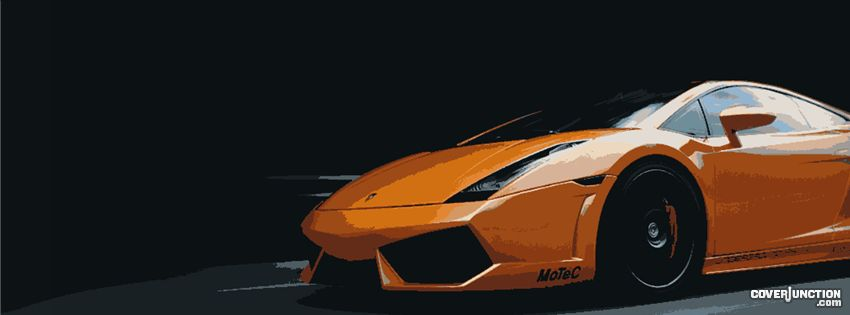 Lambo Facebook Cover - CoverJunction