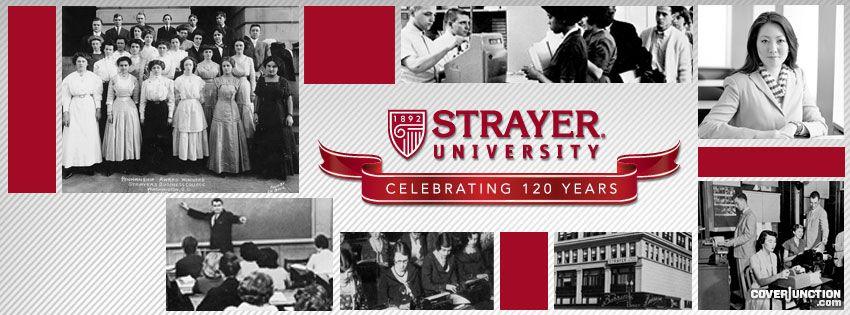 Strayer University 120th Anniversary facebook cover