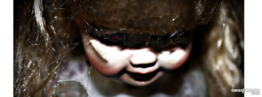 Scary DOlL Facebook Cover - CoverJunction