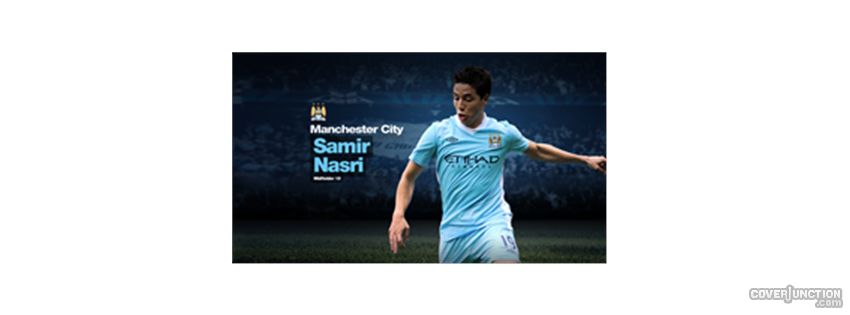 samir nasri 19 Facebook Cover - CoverJunction