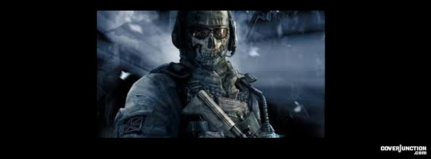 "ghost modern warfare ""call of duty"" facebook cover"