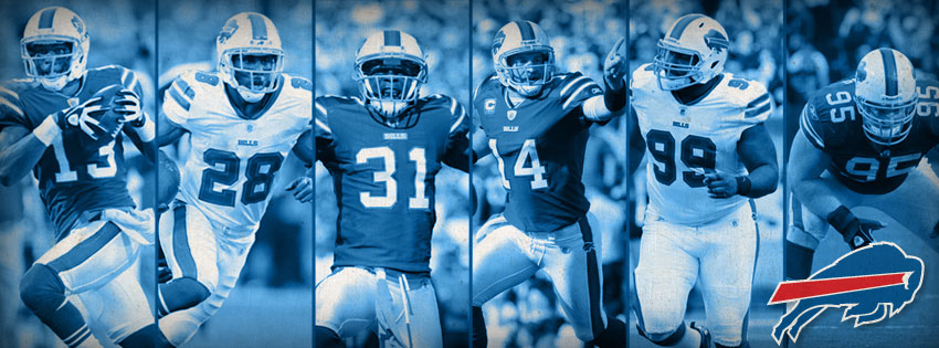 Buffalo Bills Players Facebook Cover