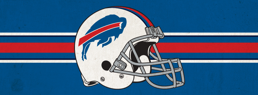 Buffalo Bills Helmet Facebook Cover