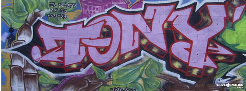 Tony  Facebook Cover - CoverJunction