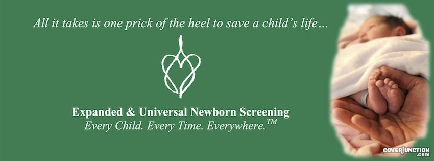 Hunter's Hope Newborn Screening Facebook Cover